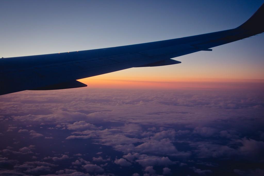 spiky seattle plane sky wing clouds sound designer