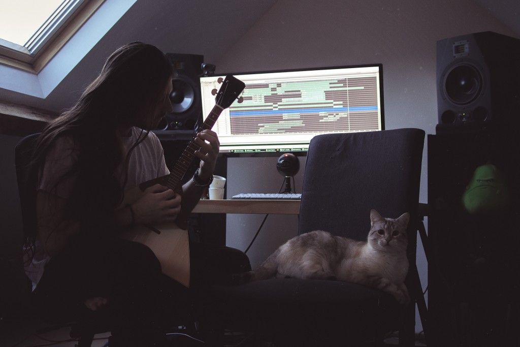spiky studio sound design cat balalaika recording audio sound designer