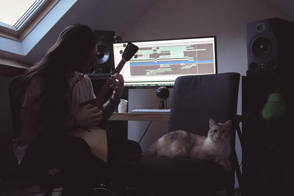 spiky studio sound design cat balalaika recording audio sound designer